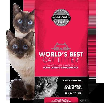 WORLD'S BEST Cat Litters Original Series Best cat