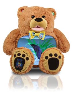 Fish Tank Bear Its A Fish Tank Inside Of A Teddy Bear Super Cool