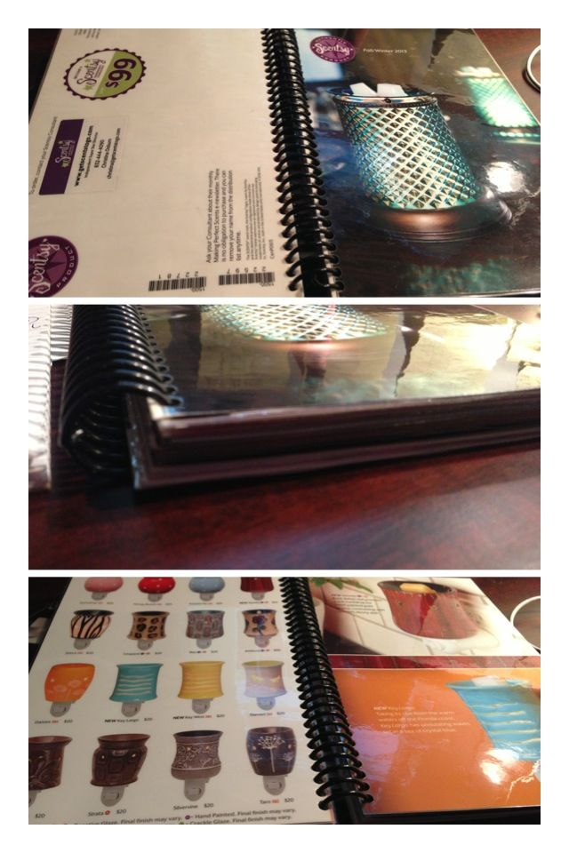 Laminate 1 New Scentsy Catalog Each Season You Carry It For 6 Months Have At Your Desk In Purse Take To Home Showore