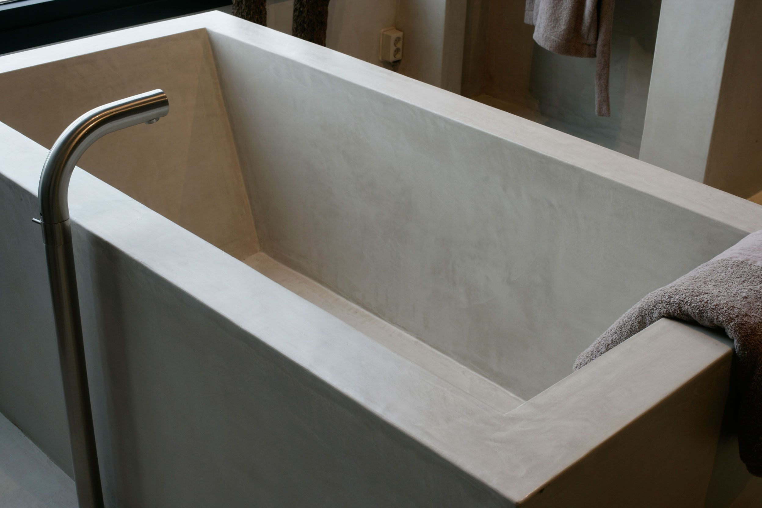 Badkamer Met Tadelakt : Carte colori tadelakt badkamer bath pinterest concrete bath