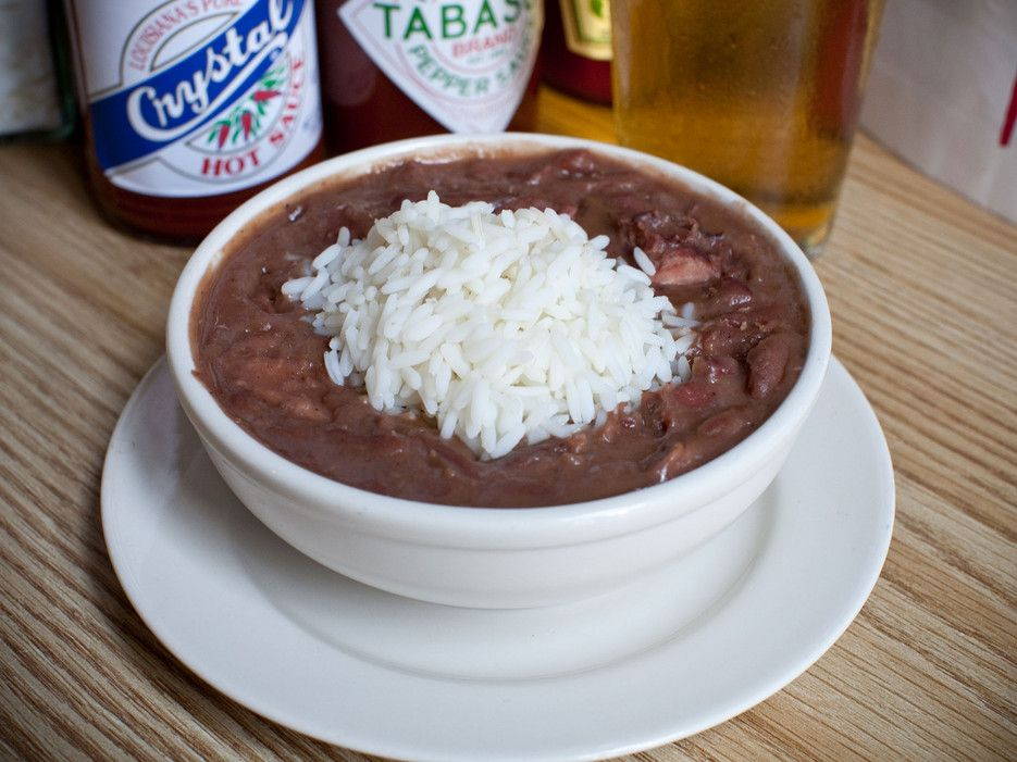 Recipe: Red Beans from Mother's Restaurant, New Orleans