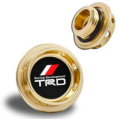 Toyota Scion Jdm Tr D Aluminum Billet Engine Oil Cap Gold Corolla Celica Mr2 Yaris Prius Matrix Tc Xb