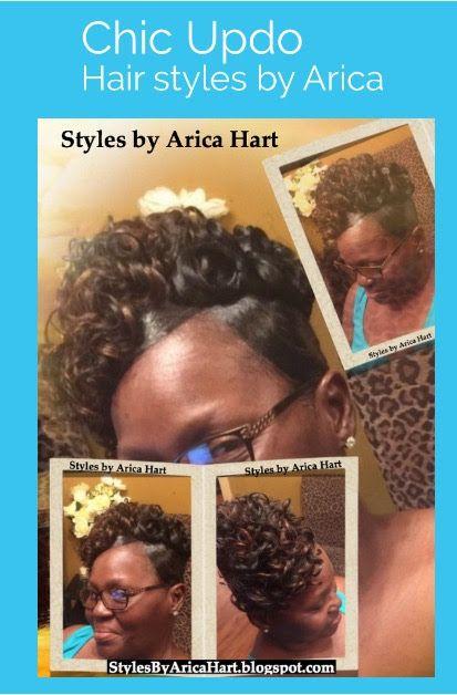Updo hairst… | Black Hair blog | Hairstyles | beauty tips & website ...