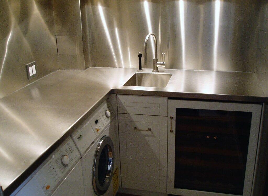 Stainless Steel Countertops Brooks Custom Stainless Steel Countertops Replacing Kitchen Countertops Countertops