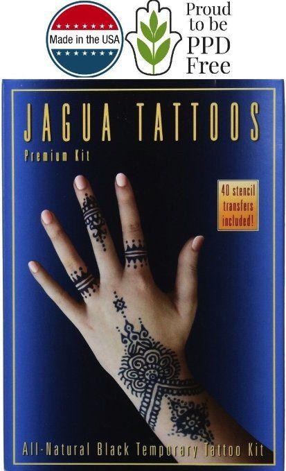 Jagua Henna Tattoo Review: Earth Henna Best Jagua Tattoo And Body Painting Kit. All