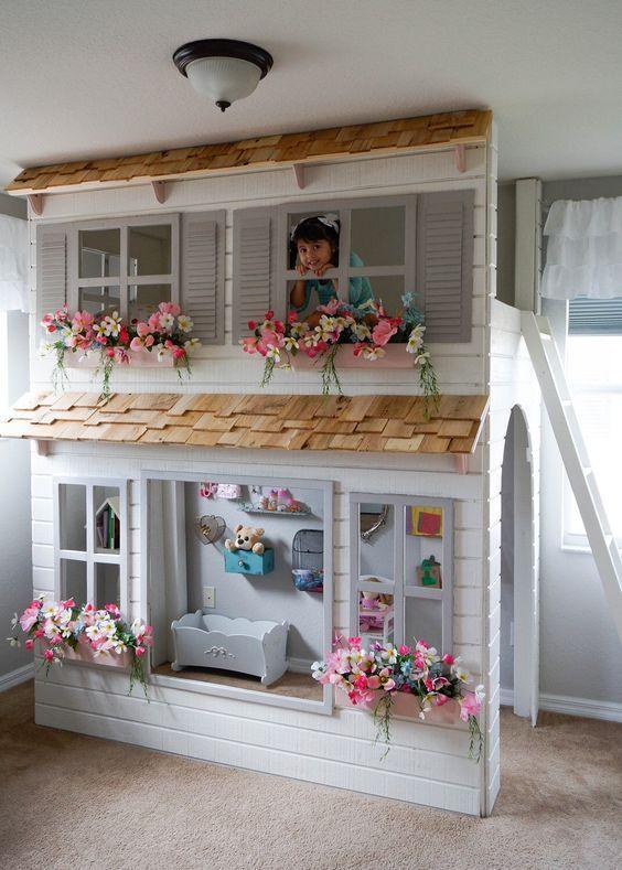 19 idee per una cameretta davvero originale i nostri for Decorare una stanza per bambini