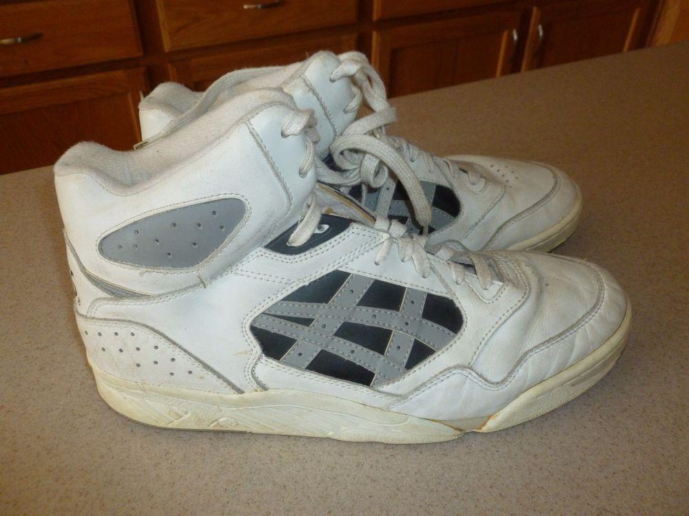 Vtg Asics Perimeter Hi Basketball Shoes