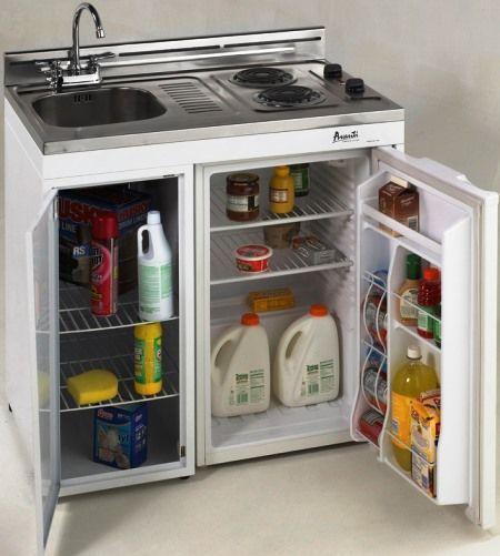 Complete Compact Kitchen Unit: Avanti CK36-1 Compact 36