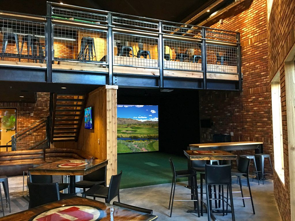 Golf Simulators Indoor Virtual Golf Software Trugolf Basement Ideas In 2019 Golf Simulators Home Theater Seating Best Home Theater