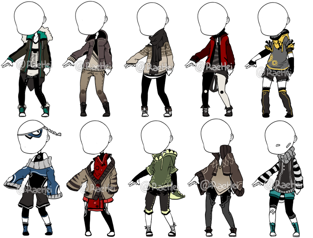 Image result for male anime outfits Clothing sketches