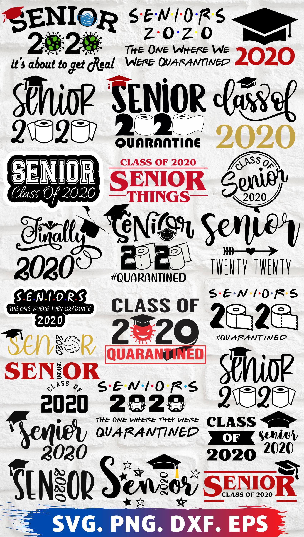 Senior of 2020, Senior of 2020 svg, Senior of 2020
