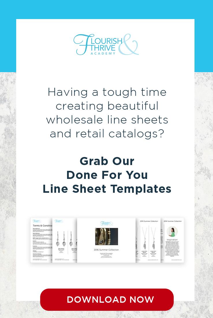 Line Sheet Templates