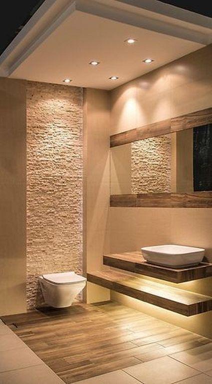 Photo of warmes Badezimmer (27) – Komplettyoga.no   – Haus sonstiges – #Badezimmer #Haus …
