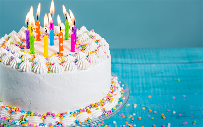 Amazing Telecharger Fonds Decran Joyeux Anniversaire Bougies Gateau Funny Birthday Cards Online Elaedamsfinfo