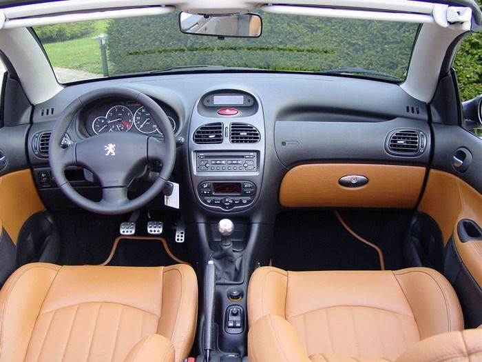 2002 Peugeot 206 CC | Car Consoles | Pinterest | Peugeot, Car ...