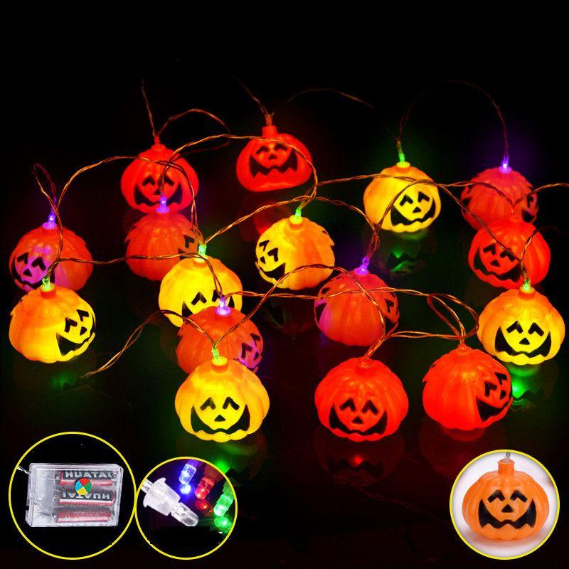 Halloween Pumpkin Lights Led | 2 7m 16 Led Halloween Pumpkin String Lights Led Fairy Lights For