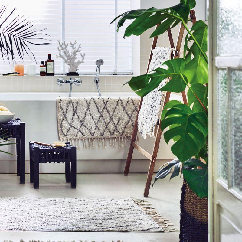 tapis berb re en coton doux et moelleux tapis bain. Black Bedroom Furniture Sets. Home Design Ideas