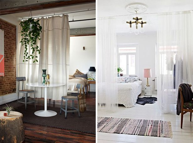 Gordijnen Als Roomdivider : Curtain room dividers room divider gordijnen als room divider