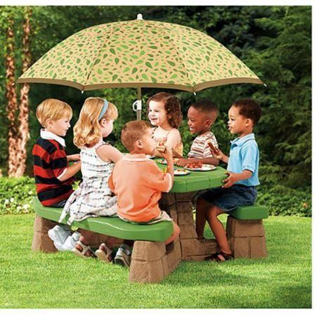 Toys Kids Picnic Table Kids Picnic Picnic Table With Umbrella