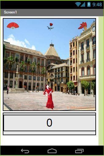 Balla flamenco in Plaza de la Costitución