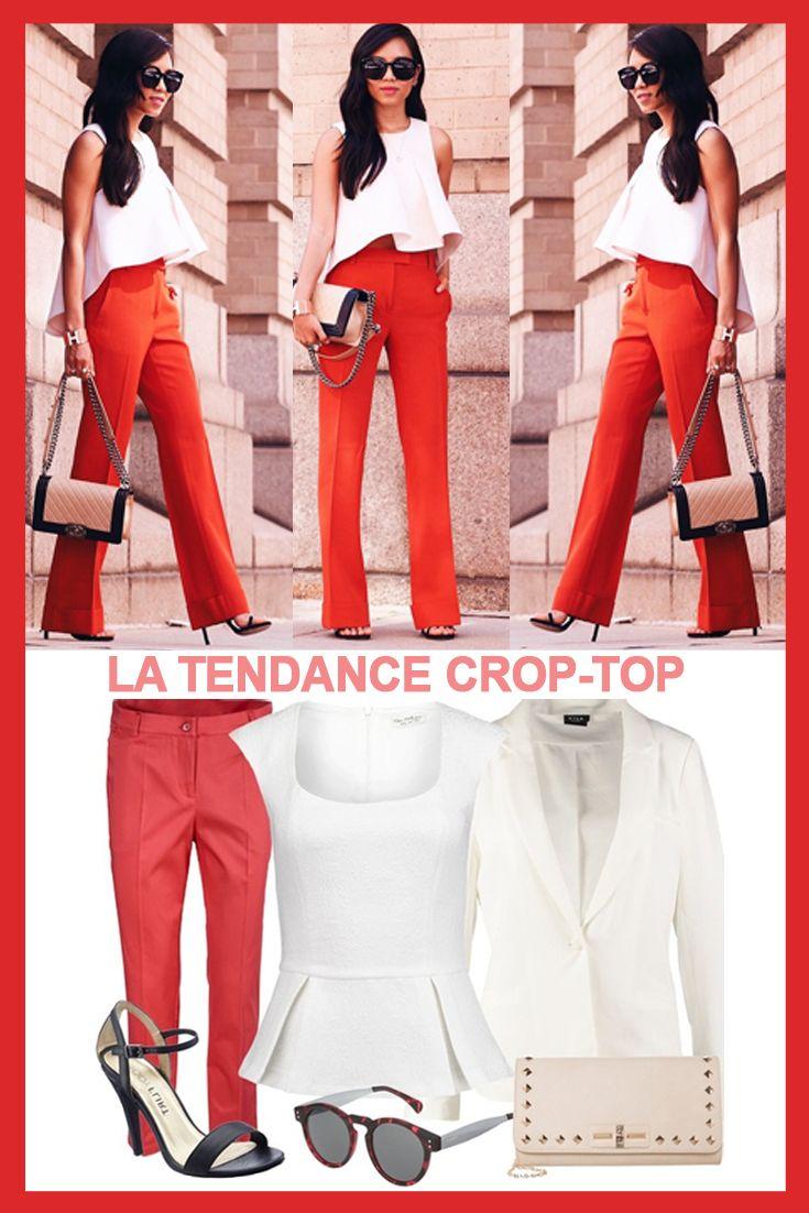 Comment porter un crop-top en Automne ? Découvrez nos astuces !  http://stylefru.it/s175336  #croptop #automne #astuces