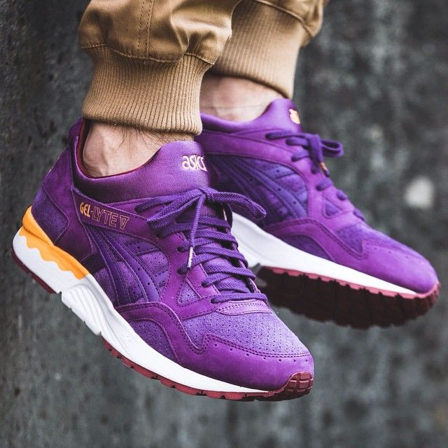 asics gel lyte 5 purple
