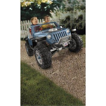 Fisher Price Power Wheels Ultimate Terrain Traction Jeep