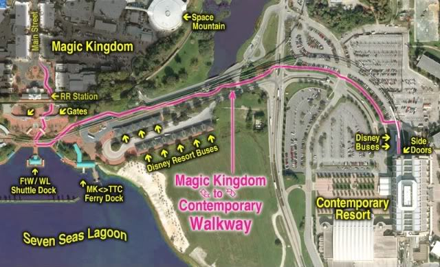 The All New Disney S Contemporary Resort Amp Bay Lake Tower