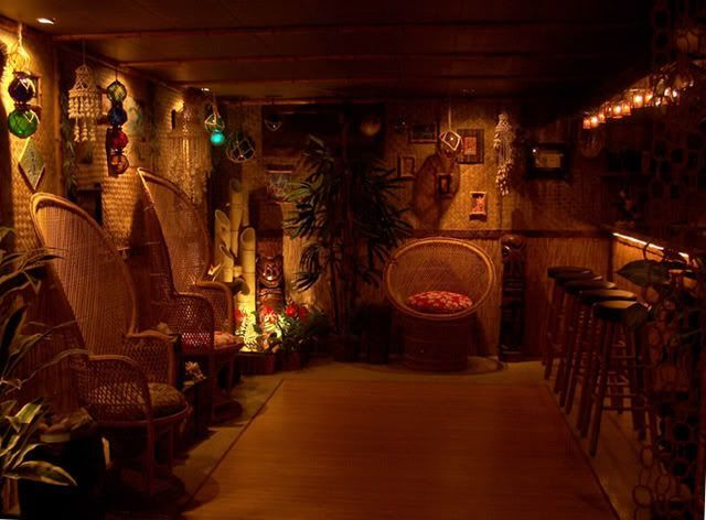 Tiki Bar Basement | Eventually I Will Have This Room As My Man Cave