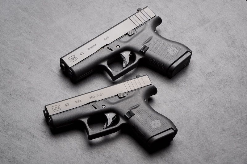 The Glock 43 versus the Glock 42   Glock   Glock 42, Guns