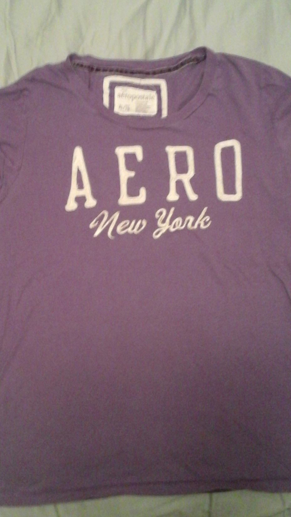 Girls Lavender Aeropostale Tshirt Size XL