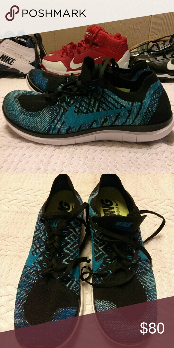 eb7835eb9890 NEW AUTHENTIC NIKE FREE barefoot ride 4.0 Flyknit RUNNING SHOES SIZE 11(Without  The Box).....ASKING  80.....OR BEST OFFER!!! Nike Shoes Athletic Shoes