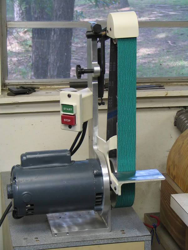 Brilliant 2X42 Shop Made Belt Sander Now 2X48 In 2019 Belt Bralicious Painted Fabric Chair Ideas Braliciousco