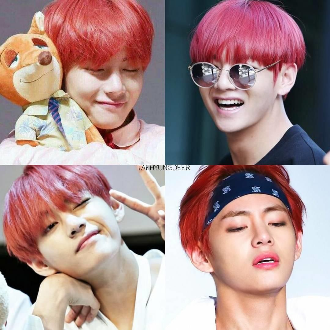 Photo of Remember red hair Taehyung?