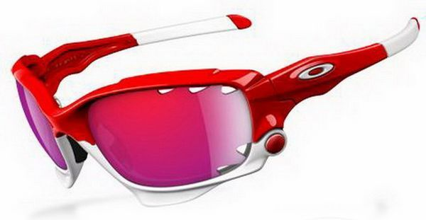 Oakley Sunglasses Red And Black
