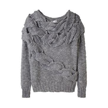 alexia dives posted Burberry - Wool Cashmere Cable Knit Sweater to their - knits and kits- postboard via the Juxtapost bookmarklet.
