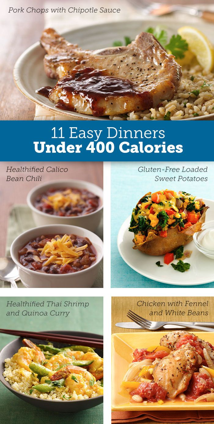 Under 400 Calorie Meals The Name Says It All Easy Dinner Food