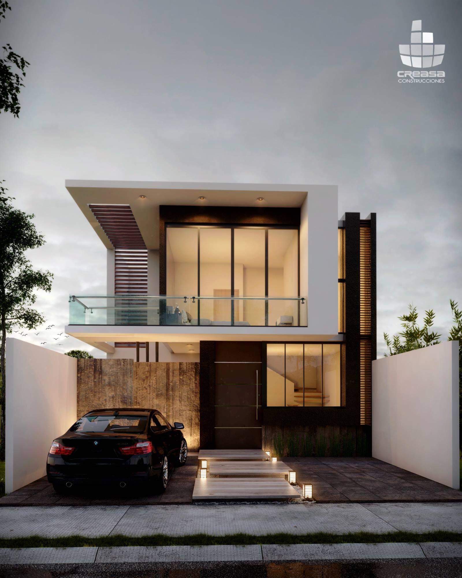 Arquitectura Fachadas De Casas Modernas Casas Modernas: Facade House, Modern House Exterior, House Designs Exterior