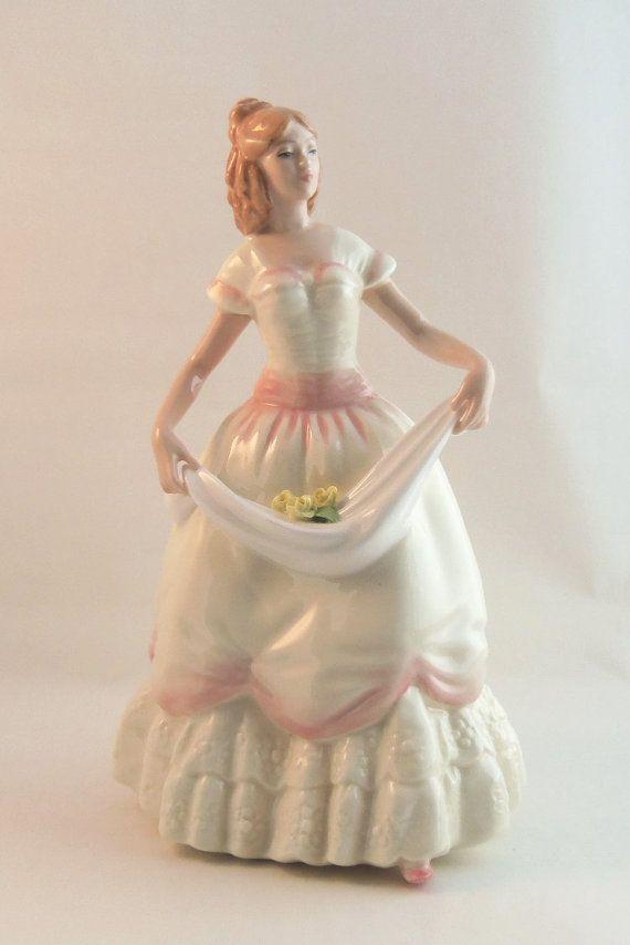 ROYAL DOULTON Figurine Vintage Porcelain ca. 1992 by BunnysLuck, $99.99