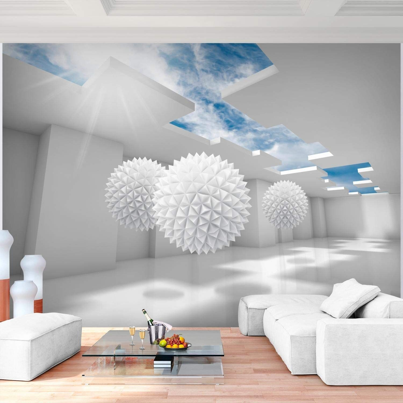 Fototapeten 3D - Blau 352 x 250 cm Vlies Wand Tapete ...
