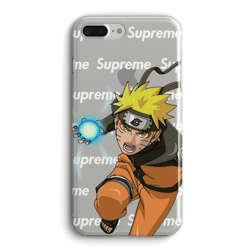 Naruto Rasengan Supreme For Iphone 7 Plus 8 Clear Case