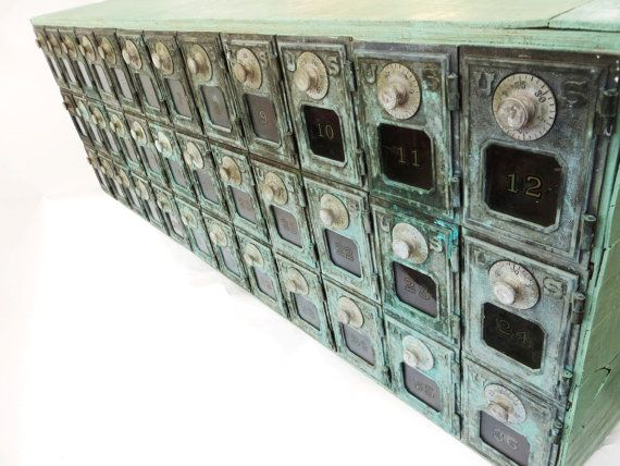 Hey I Found This Really Awesome Etsy Listing At Https Www 212343576 Vintage Post Office Box Mail Sorter