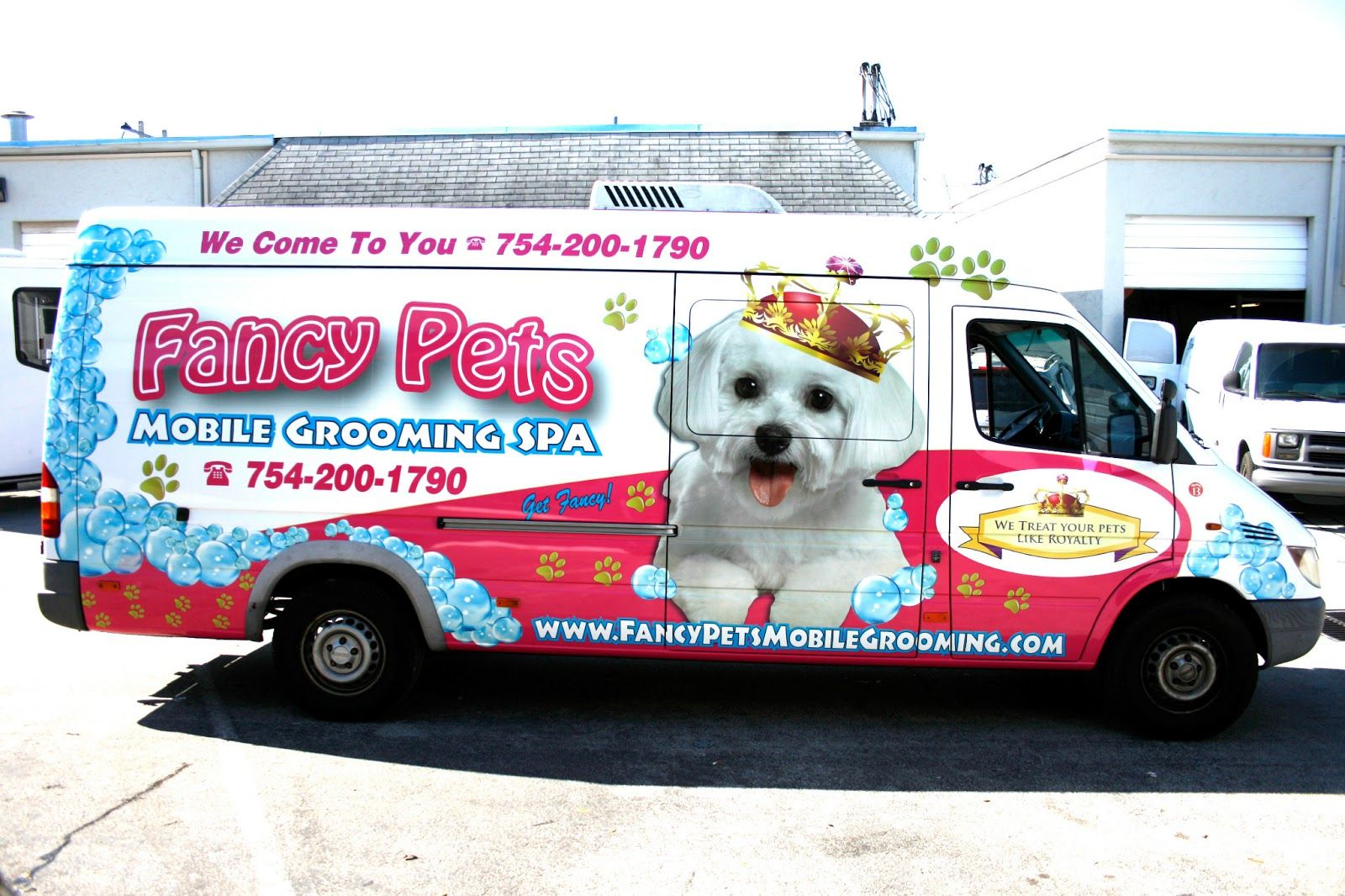 Pin On Mobile Pet Grooming Wraps