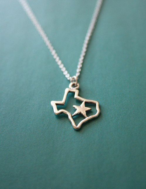 Texas Necklace, SO cute!