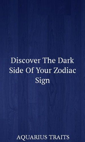 Discover The Dark Side Of Your Zodiac Sign #astrology #leo #libra