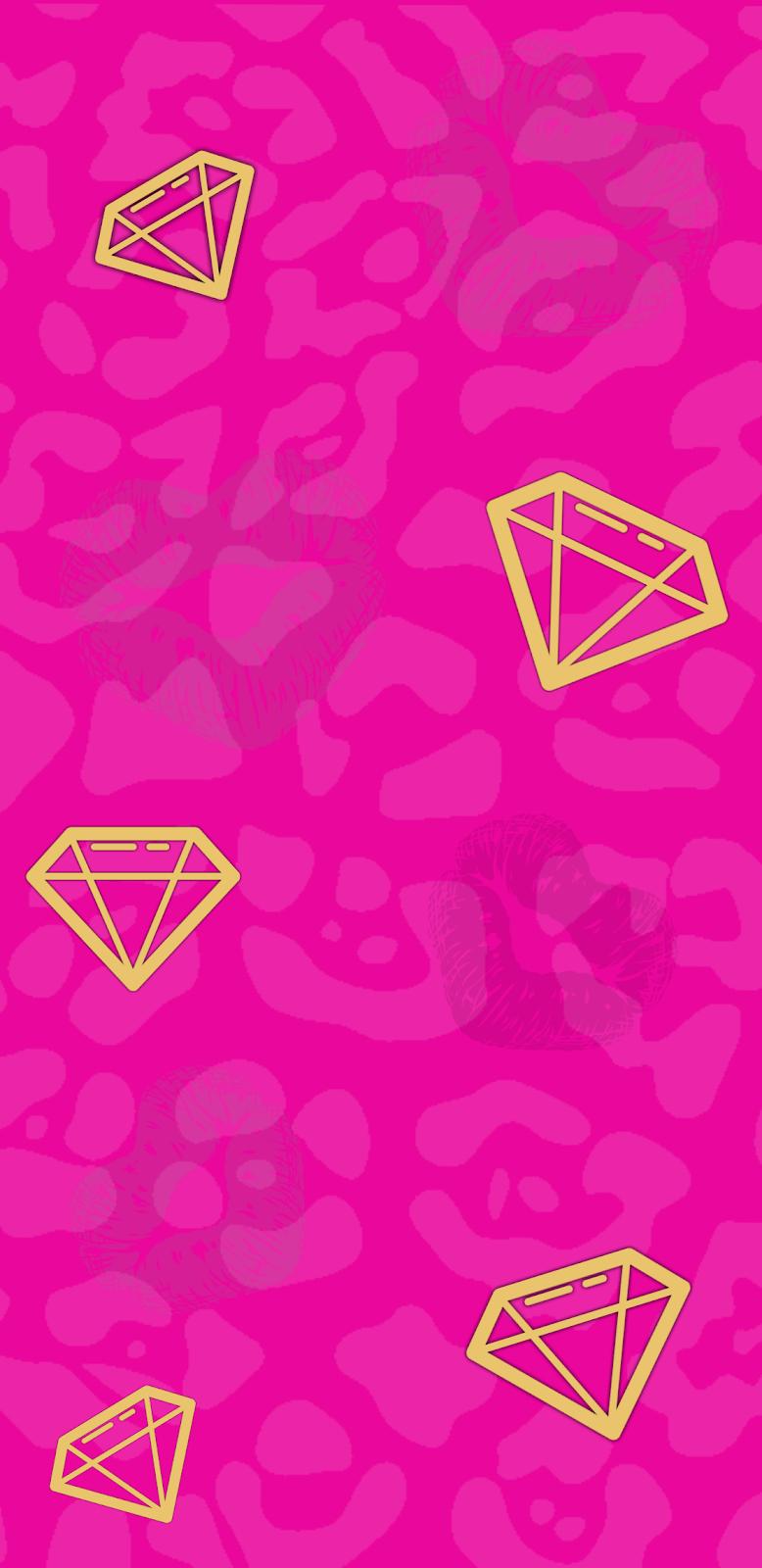 Pink diamond wallpaper by 𝑀𝒾𝒸𝒽𝑒𝓁𝓁𝑒 on ️∂ιαмσи∂ѕ ️