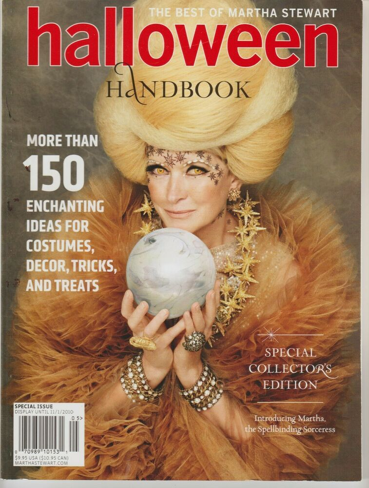 Halloween 2020 Collectors Edition Halloween Handbook The Best of Martha Stewart Special Collectors