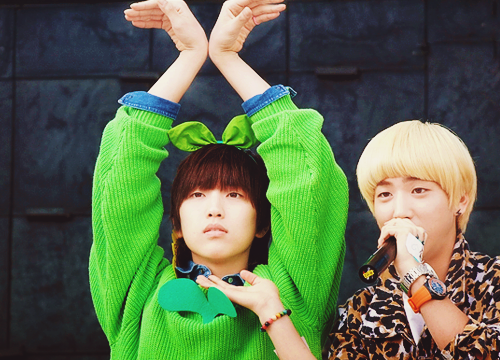 Sandeul  Baro from B1A4