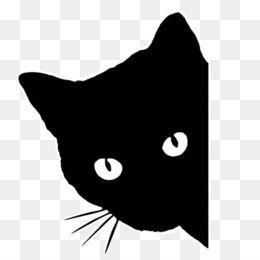 Cat Png Black Cat Cute Cat Cat Silhouette Cartoon Cat Cat Drawing Cat Face Cat Food Cat Cute Funny Cat C Black Cat Drawing Cat Outline Black Cat Art