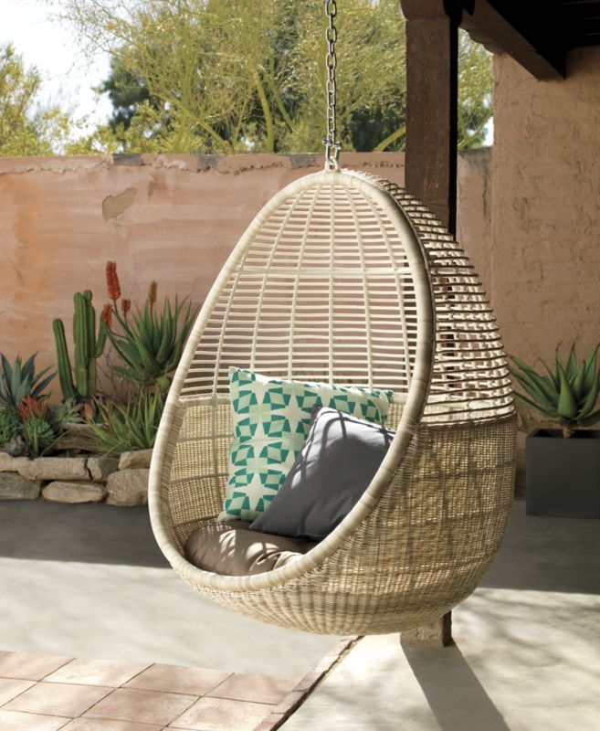 pod hanging chair with cushion & Pod hanging chair with cushion | Products | Pinterest | Hanging ...
